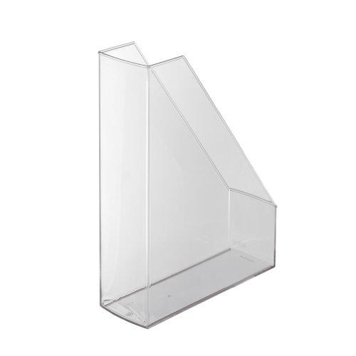 Herlitz 1966811- Archivador revistero de plástico A4, color transparente