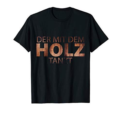 T-Shirt für Tischler, Schreiner und Holz Handwerk T-Shirt