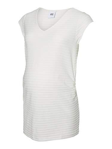 Mamalicious Maillot à manches longues pour femme Blanc neige - Ecru - X-Large