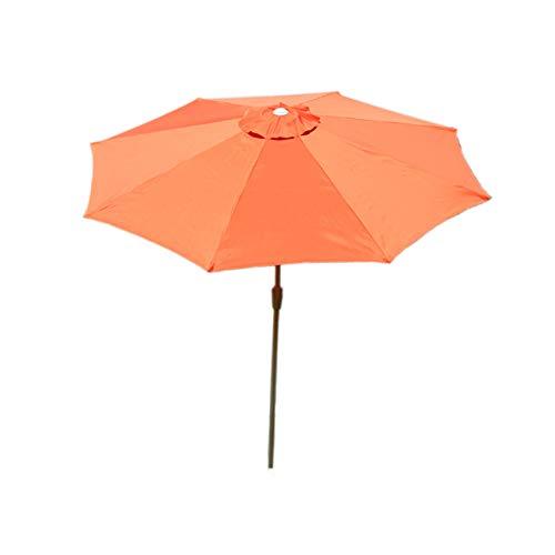 Mendler Sonnenschirm N19, Gartenschirm, Ø 3m neigbar Polyester/Alu 5kg ~ Creme