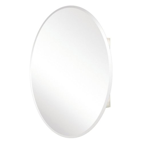 Pegasus Oval Beveled Mirror 24W x 36H in. Medicine Cabinet SP4583