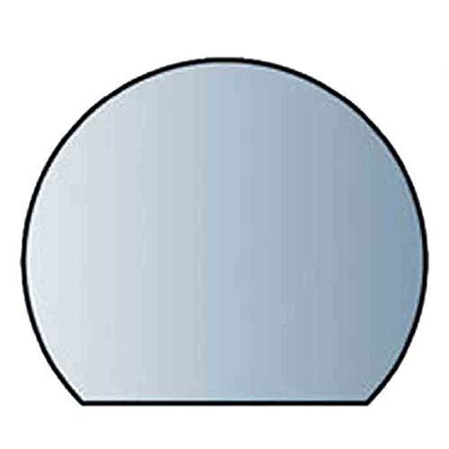 Glasbodenplatte 8 mm Stärke, 120 x 105 cm, Halbrund 21.02.883.2 Glasplatte Funkenschutz Platte Kamin Ofen Kaminöfen Lienbacher Vorlegeplatte Bodenplatte ESG Sicherheitsglas