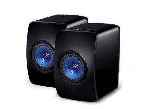 KEF LS50 Wireless Schwarz, WLAN Lautsprecher   Aktivlautsprecher   Bluetoothlautsprecher   Spotify   Tidal   Roon