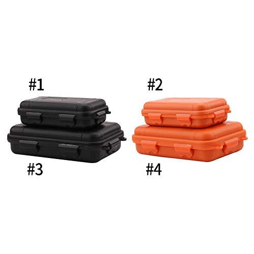 Aeloa 2 kleuren 2 maten outdoor plastic waterdichte schokbestendige doos luchtdichte overleving case container opslag draagdoos