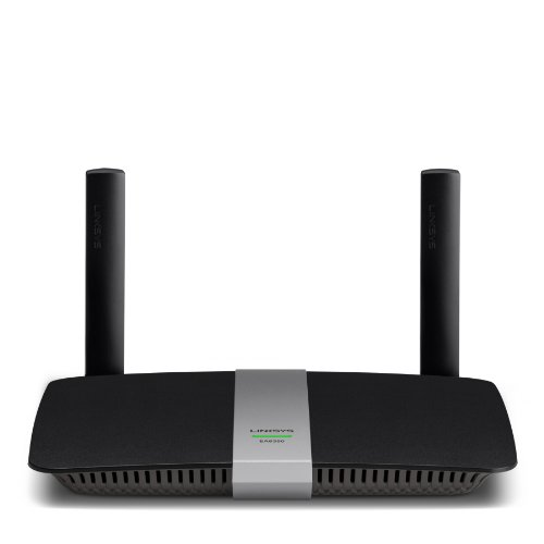 Linksys EA6350-EJ - Router inalámbrico Smart Wi-Fi de Doble Banda AC1200+ (4 Puertos Gigabit Ethernet, 1 Puerto USB 3.0, Control Parental 2,4 + 5 GHz), Negro