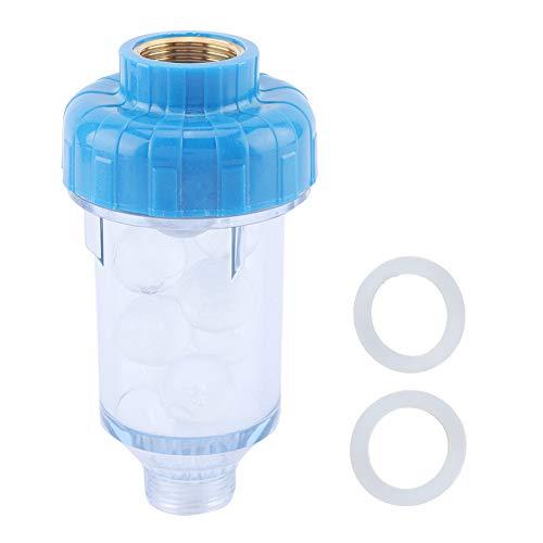 Limpiador Prefiltro, Purificador de agua, Filtro Purificador de agua de retrolavado para la ropa del hogar Prefiltrado Accesorios de grifo Prefiltro