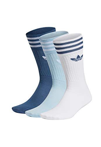 Adidas Solid Crew Socks sokken, pak van 3