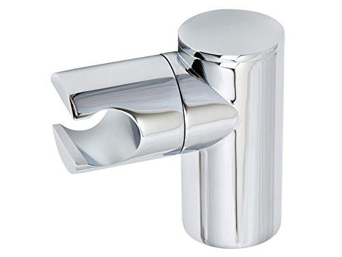 tecuro -60091- Brausehalter Wandhalter für Handbrause - Kunststoff verchromt