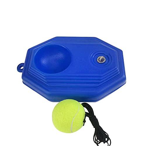 Aibabely Entrenador de pelota de tenis, entrenador de pelota de tenis, autoestudio, jugador, entrenamiento, ayuda de práctica, suministro de herramientas con base de cuerda elástica