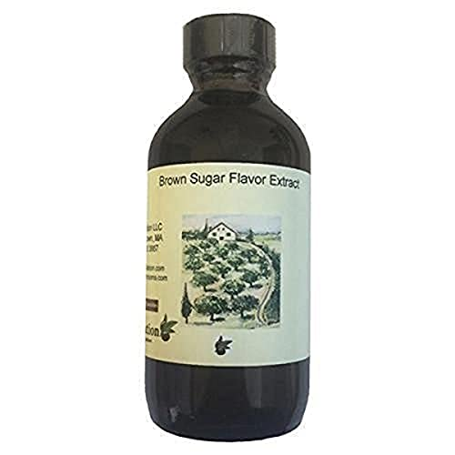 OliveNation Brown Sugar Flavoring Extract for Baking and Cooking, Add Sweet Deep Flavor to Sweet or Savory Dishes, Non-GMO, Gluten Free, Kosher , Vegan - 8 ounces