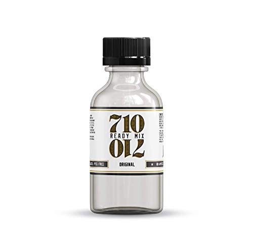 710 Ready Mix - USP Grade PG Propylene Glycol and a Natural Emulsifier Flavoring Solution - Made and Bottled in the USA - Stable and PEG Free Liquidizer - (Original, 120mL)