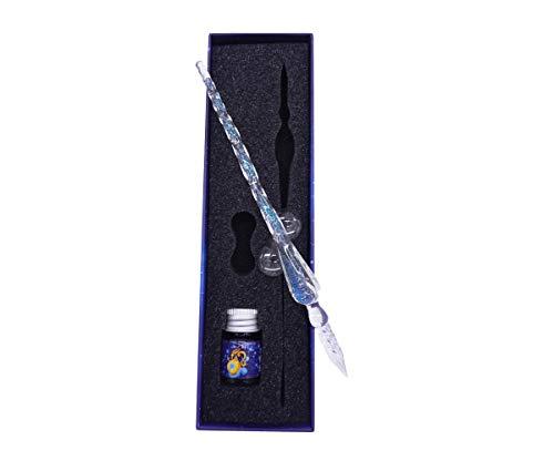 Glasstifte-Set – Kalligraphie-Stift Schreiben, beste Weihnachtsgeschenke, Geschäftsgeschenke, Urlaubsgeschenk weiß…