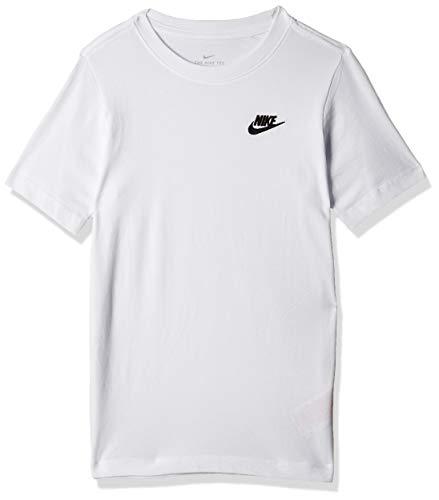 Nike Kids EMB Futura T Shirt WhiteBlack M
