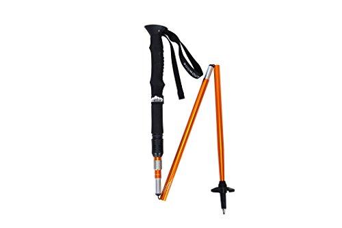 Snowline Stealth Moving Trekker's polenset, 125mm, Oranje