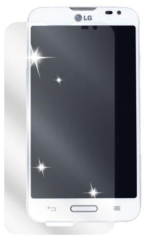 Ecultor I 6x Schutzfolie klar passend für LG L70 Folie Displayschutzfolie