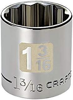 Soquete Curto 1-3/16, 12 Pontas, Encaixe 1/2-50748- Craftsman