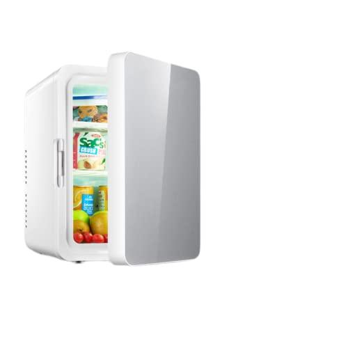Mxsnow Refrigerador para El Cuidado De La Piel Snjiaheim Calentador De Maquillaje El Refrigerador Cosmético De Belleza Es Muy Adecuado para El Dormitorio-10L-silver