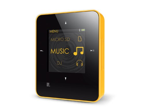 Creative Zen Style M300 MP3-speler 8 GB (3,7 cm (1,45 inch) TFT-display, radio, USB) 8 GB zwart/geel