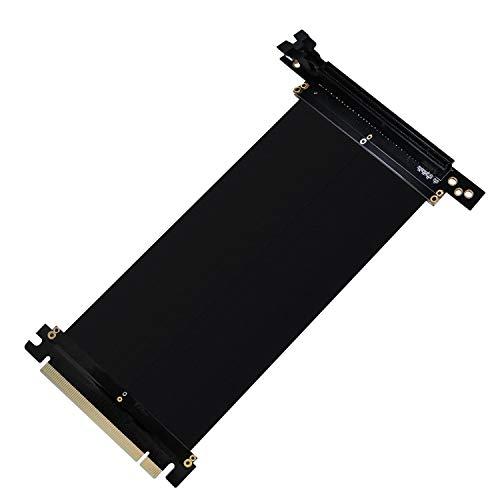 EZDIY-FAB New PCI Express 16x Flexibles Kabel Karten Verlängerung Port Adapter High Speed Riser Card Passen mit FD R6 PC-Gehäuse -20cm