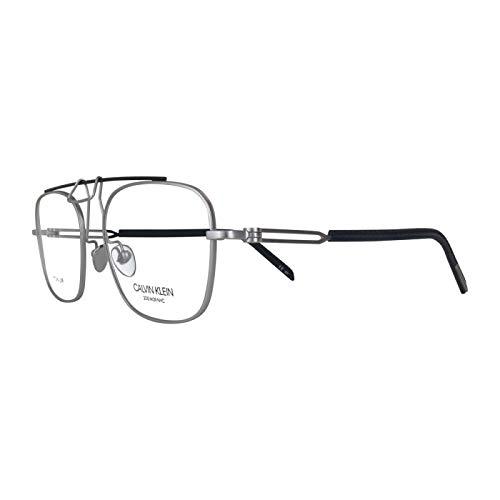 Calvin Klein - Gafas de visión Cknyc1810-045-52 (plata/titanio)