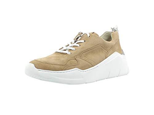 Paul Green Damen Sneaker 4920, Frauen Low-Top Sneaker, Halbschuh strassenschuh schnürer schnürschuh sportschuh Plateau-Sohle,Dakar,37 EU / 4 UK