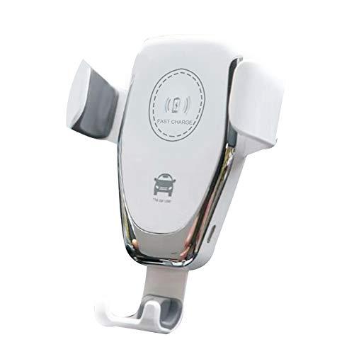 Sunydeal Air Vent Holder - Supporto universale wireless da auto per Smart Phone, 10 W, colore: Nero