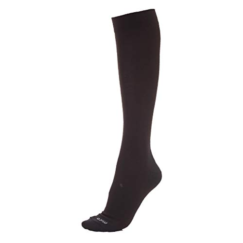 MICO SOCKEN SKI SUPERTHERMO LIGHT PRIMALOFT, aus 100% Primaloft + LYCRA Faser, 100% made in italy, ultraleicht, leichtes Gewicht, für Herren und Damen, sportlich, in schwarzer Farbe