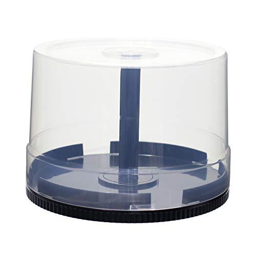 『スピンドルケース ディスク50枚入れ用2個/DVDやBlu-rayDiscを50枚収納可能』の1枚目の画像