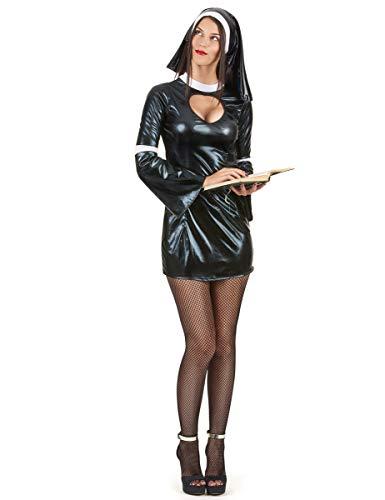 Generique - Disfraz de Monja Sexy Mujer: Amazon.es: Juguetes y juegos