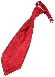 DQT Tissé Pois Rouge classique pour homme Pre-Tied Bow Cravate /& Mouchoir Lot
