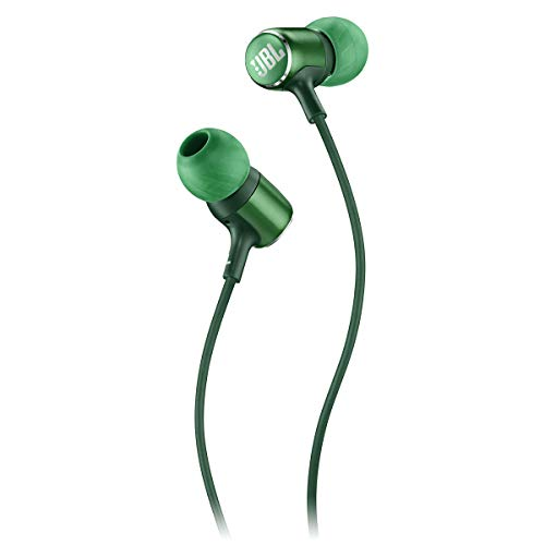 JBL Live 100 in-Ear Headphones with Remote - Green