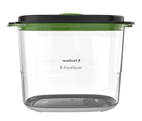 Recipiente de envasado al vacío de alimentos para conservar y marinar FoodSaver | | Recipiente hermético para alimentos sin BPA | A prueba de fugas | Apto para lavavajillas | 1,8 litros