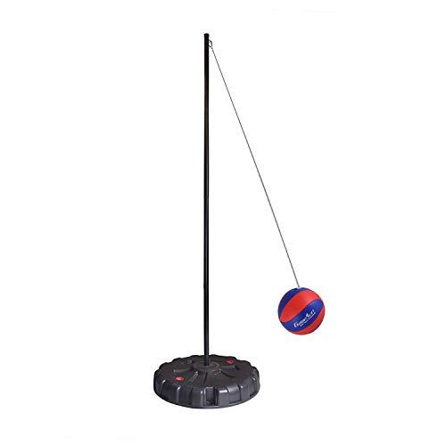 Portable Tetherball Set,Portable Water-Base Tetherball Set with Tetherball, Pole, Rope and Base for Outdoor, Backyard and Family Fun Play