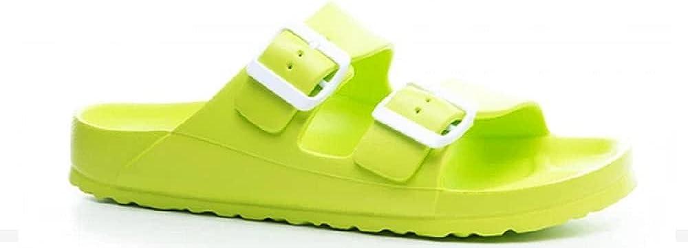 Corkys Women's Waterslide Slip-On Sandal Lime