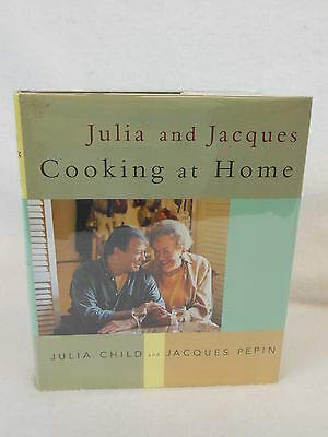 Julia Child Jacques Pepin JULIA AND JACQUES COOKING AT HOME Knopf 1st Ed