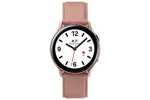Samsung Galaxy Watch Active 2 - Smartwatch de Acero, 40mm, color Rose Gold, LTE [Versión española]