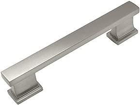 10 Pack - Cosmas 702-4SN Satin Nickel Contemporary Cabinet Hardware Handle Pull - 4