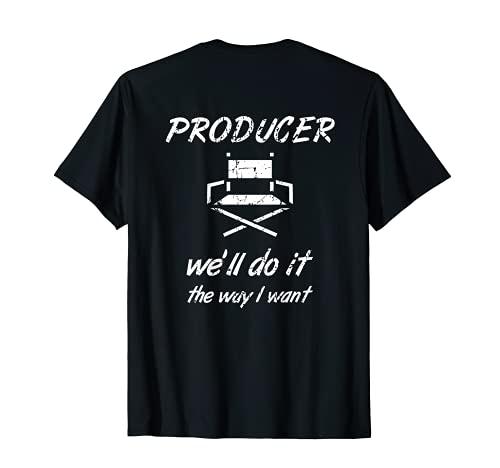 Director de cine Productor de cine Camiseta