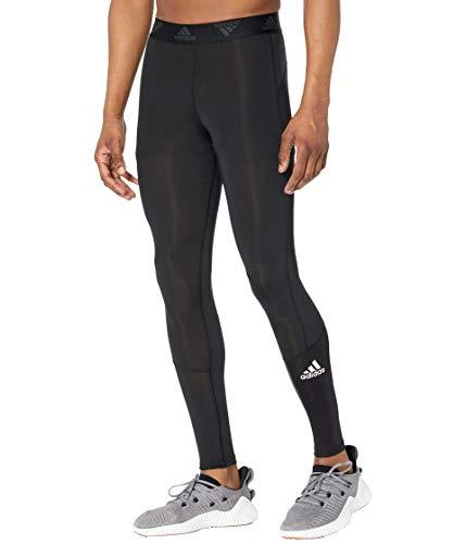 adidas Men's Standard Techfit Long Tights, Black, Large