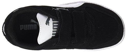 Puma Unisex-Kinder Icra Trainer SD V PS Sneaker, Schwarz Black-White - 5