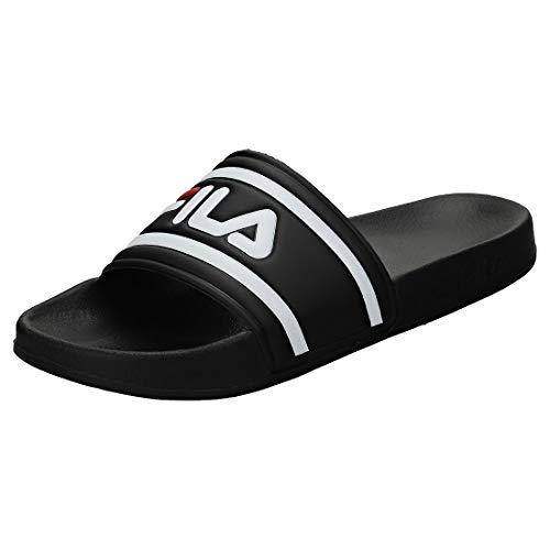 Fila Badelatschen Morro Bay Slipper 1010286 25Y Schwarz Black, Schuhgröße:41