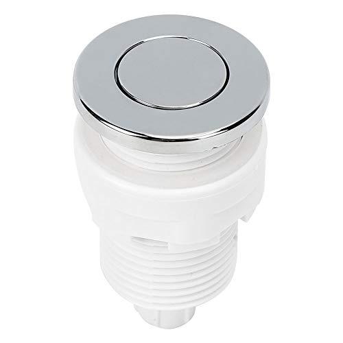 Interruptor de presión de Aire Ajustable Plásticos de ingeniería ABS Elegantes Botón neumático Interruptor de presión de Aire fácil de Instalar para el baño del Hotel en casa