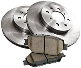 OE Replacement Direct Fit Brake Kit Compatible for 1998 PORSCHE 911 CARRERA 2 except Turbo & Turbo Look, 2S Type 993 Rear Brake Pads and Brake Rotors