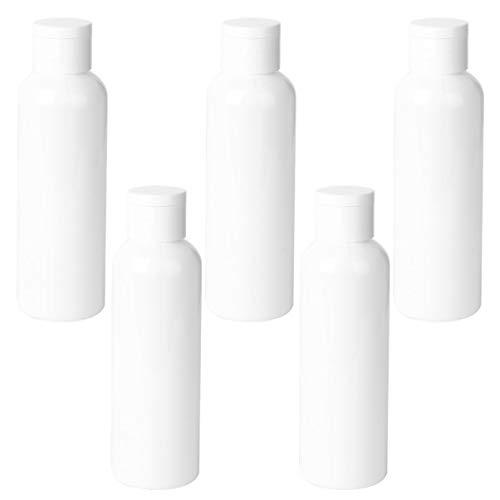 Minkissy 5 Stück Nachfüllbare Make-up-Flaschen 200 ml Kosmetiklotion Flüssigkeitsröhrchen Leere Lotion-Unterflaschen für die Aufbewahrung von Shampoo-Handseifen-Make-up-Flüssigkeiten