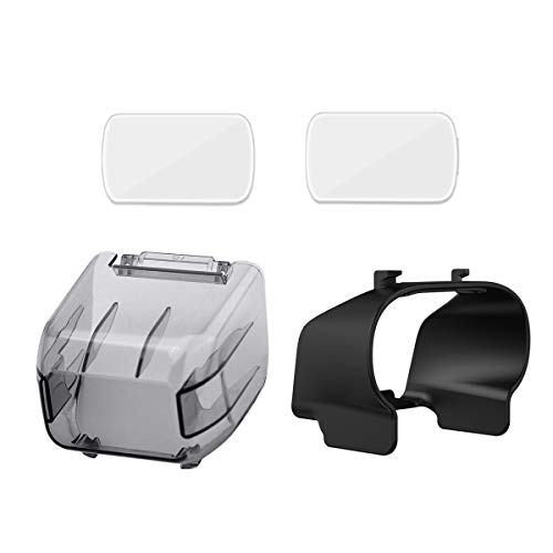 O'woda Mavic Mini 2 Protection Kit: Films de Protection d'objectif (2 Jeux) + Cache de Cardan Protection d'objectif + Capuchon Protection Pare-Soleil Accessoires pour DJI Mavic Mini 2 / Mavic Mini