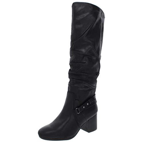 BareTraps Amarie Knee High Boots , Black, 6.5 US