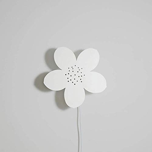 Creatieve wandlamp van metaal Macaron Cloud balloon nachtkastje wandlamp Deens licht kinderen meisjes slaapkamer gemonteerd Witte bloem