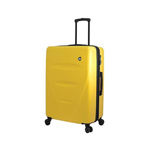 Mia Toro Italy Fassa Hardside 27 Inch Spinner Luggage, Yellow, One Size