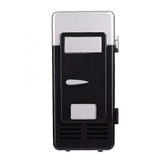 Ruluti USB 1pc Mini Refrigerador Y Calentador Congelador Portátiles Latas De Bebidas Mini Refrigerador De Bebidas para Ministerio del Interior