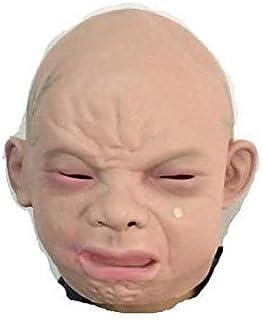 TYUI リアルマスク 赤ちゃん 泣き顔 ベビーマスク 被り物 変装 コスプレ グッズ 2016年大晦日 科学博士24時 笑ってはいけない 宴会 ハロウィン パーティ